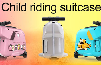 Airwheel kids electric luggage