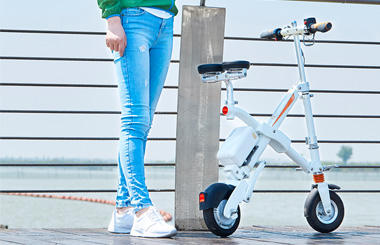 Airwheel E6 popular electric folding bike